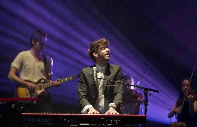 David Giguère présentera ses chansons pour la première... ((PHOTO MARCO CAMPANOZZI, LA PRESSE))