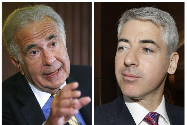 Carl Icahn et William Ackman... (Photos Reuters)