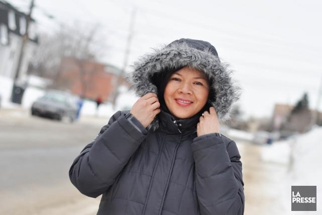 L'hiver n'a qu'à bien se tenir, Johana Chaparro,... (Photo: Émilie O'Connor)