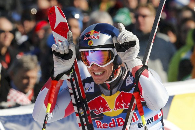 Guay, 31 ans, a signé à Kitzbühel le... (Photo: Reuters)