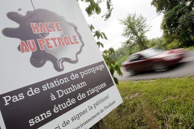 La pétrolière Enbridge, avec son projet Trailbreaker, voulait... (Photo: Ivanoh Demers, archives La Presse)