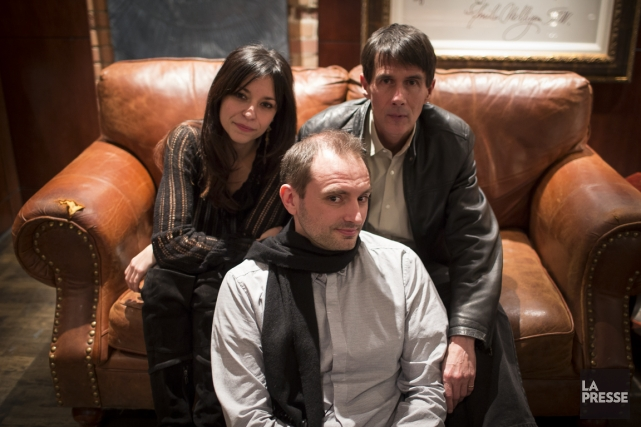 Isabelle Guérard, Martin Doepner et Lothaire Bluteau.... (Photo Olivier Pontbriand, La Presse)