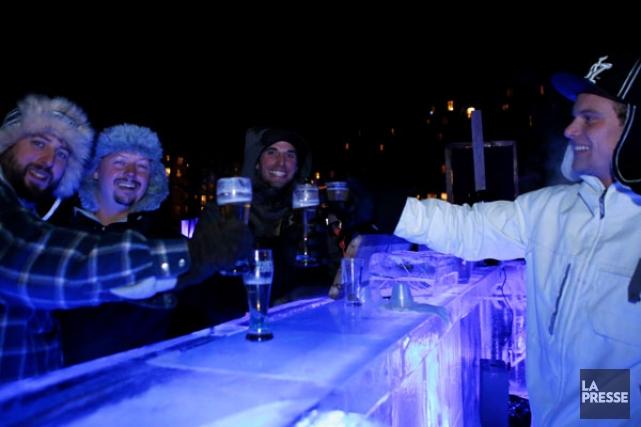 Le Festibière d'hiver continue sur sa lancée. Quelque 11 000 épicuriens  se... (Simon Séguin-Bertrand, LeDroit)
