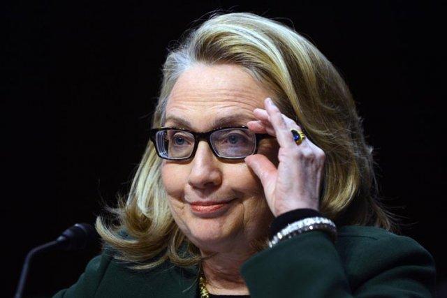 Hillary Clinton n'a pas donné d'indications claires sur... (Photo: AFP)