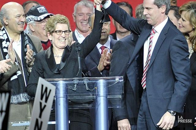 Kathleen Wynne succède àDalton McGuinty à la tête... (PHOTO ÉTIENNE RANGER, LE DROIT)