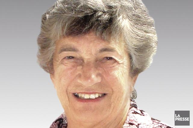 La Dre Lucette Lafleur, microbiologiste à la retraite... (Photo fournie par Gilles Pigeon)