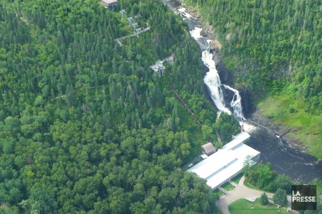 Le projet de minicentrale hydroélectrique sur le site de Val-Jalbert n'obtient... (Archives)