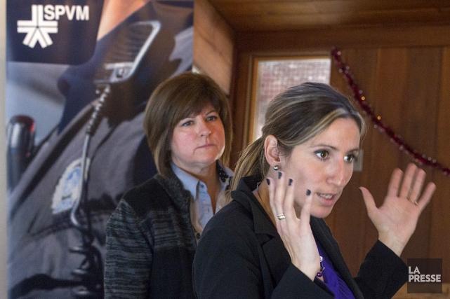Diane Veillette et Josée Mensales, agentes de concertation... (Photo: Ivanoh Demers, La Presse)