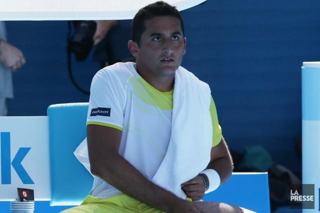 L'Espagnol Nicolas Almagro s'est blessé la semaine dernière... (Photo: AP)