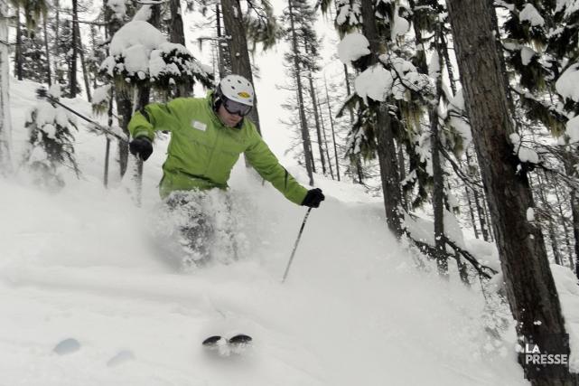 Le domaine skiable de Whistler-Blackcomb est si vaste qu'il faudrait des... (Photo Bernard Brault, La Presse)