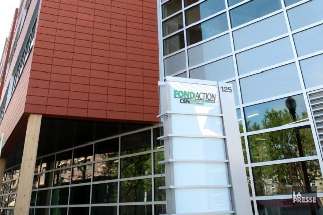 L'immeuble de Fondaction CSN... (Photothèque Le Soleil, Jocelyn Bernier)