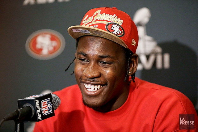 Le secondeur des 49ers de San Francisco Aldon... (AP)