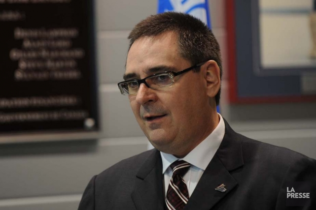 Le commissaire de la LHJMQ, Gilles Courteau, estime... (Photo: Sylvain Mayer)