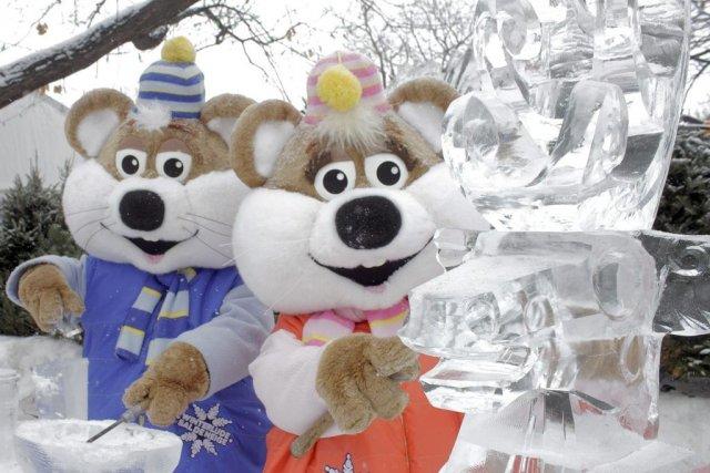 Le site «Reflets de glace» du parc de... (Étienne Ranger, LeDroit)