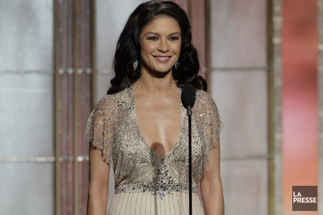 Catherine Zeta-Jones à la cérémonie des Golden Globes... (Photo: Reuters)