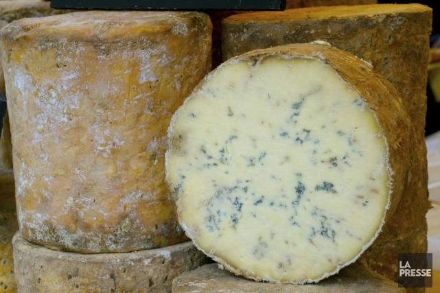 Le fromage bleu. Beaucoup n'osent même pas l'approcher, encore moins le... (Photo Photos.com)