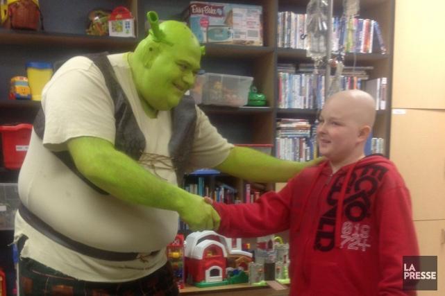 Les enfants l'appellent «Shrek». Au niveau 4 du... (Samuel Blais-Gauthier, LeDroit)