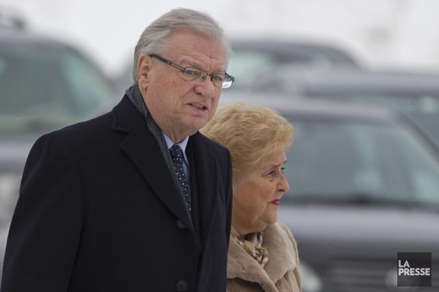 L'ancien maire de Laval Gilles Vaillancourt a assisté... (Photo Ivanoh Demers, La Presse)