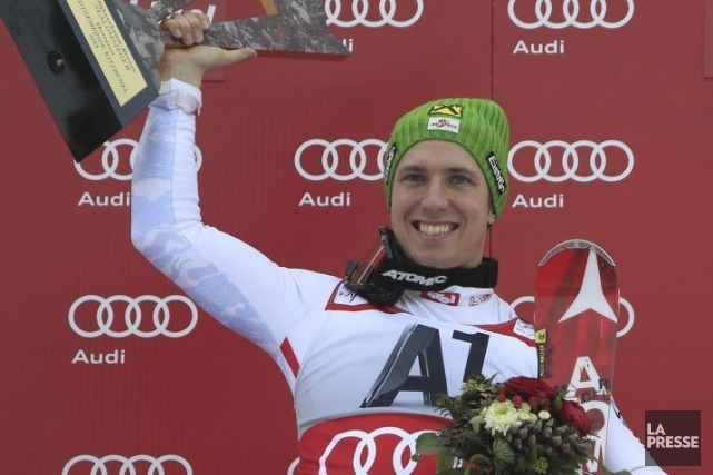 Marcel Hirscher... (Photo Alexander Klein, Agence France-Presse)