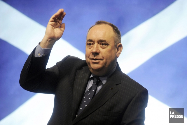 Le premier ministre écossais Alex Salmond.... (PHOTO ANDY BUCHANAN, ARCHIVES AFP)