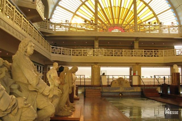 La Piscine, un musée d'art très couru dans... (Photo: Mario Fontaine, La Presse)