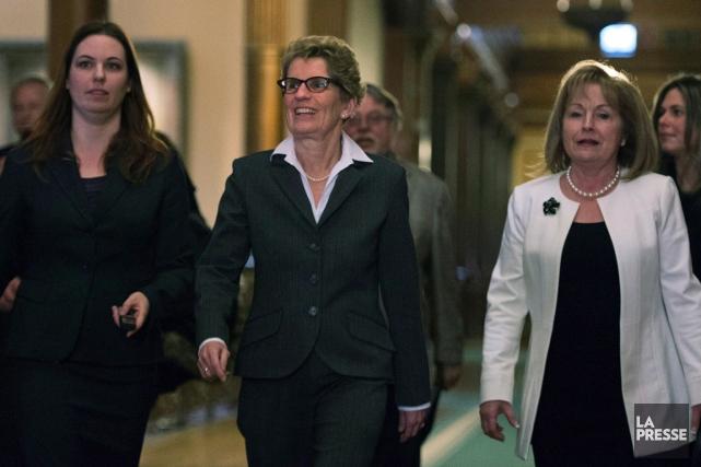 Madeleine Meilleur promet aux francophones qu'ils seront «bien... (La Presse Canadienne)