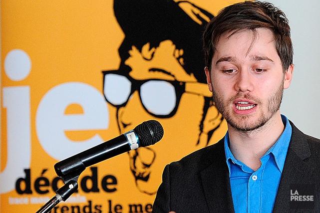 Le plus jeune député de l'Assemblée nationale, Léo... (archives Le Soleil, Erick Labbé)