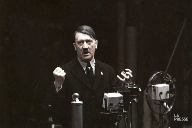 Adolf Hitler... (PHOTO ARCHIVES LA PRESSE)