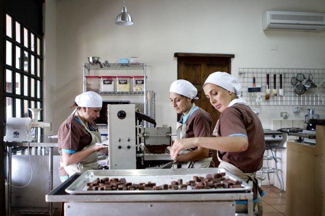 La maison Sibu Chocolate, à San Isidro de... (Photo: Marco Campanozzi, La Presse)