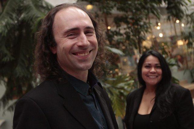 Léonard Constant et Regina Teixeira s'unissent à Florquestra... (Étienne Ranger, LeDroit)