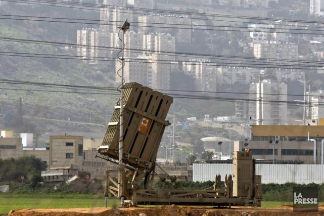 L'armée israélienne a redéployé dimanche deux batteries du... (Photo: AFP)