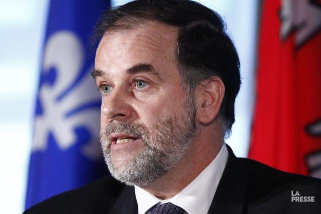 Le ministre de l'Enseignement supérieur Pierre Duchesne... (Photothèque La Presse)