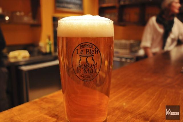 Les buveurs de bière peuvent souffler. Questionné jeudi par l'opposition... (Photo fournie par la Brasserie Le Bien, Le Malt)