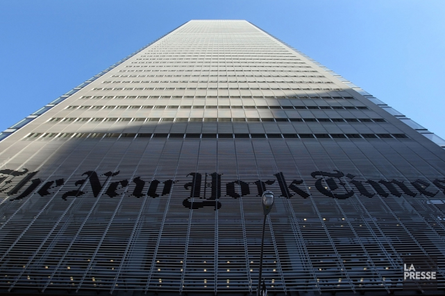 Le siège social du New York Times.... (Photo archives Getty)