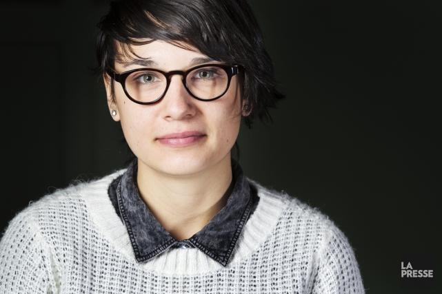 Chloé Robichaud... (Photo: Édouard Plante-Fréchette, La Presse)