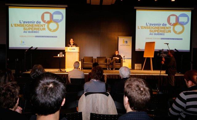 Le 19janvier dernier s'est tenu à l'Université du Québec en Outaouais un «forum... (Simon Séguin-Bertrand, Archives LeDroit)