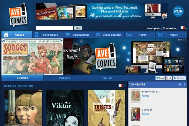 Bandes dessinées et magazines de BD numériques, blogues, édition ...