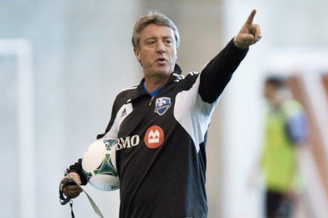 Marco Schällibaum, l'entraîneur-chef de l'Impact.... (Photo Paul Chiasson, La Presse Canadienne)