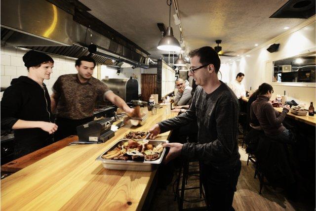 Quiconque a déjà eu la chance de manger... (Photo : Bernard Brault, La Presse)