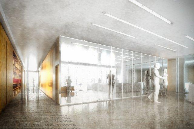 nouveau si ge social pour les architectes marie france. Black Bedroom Furniture Sets. Home Design Ideas