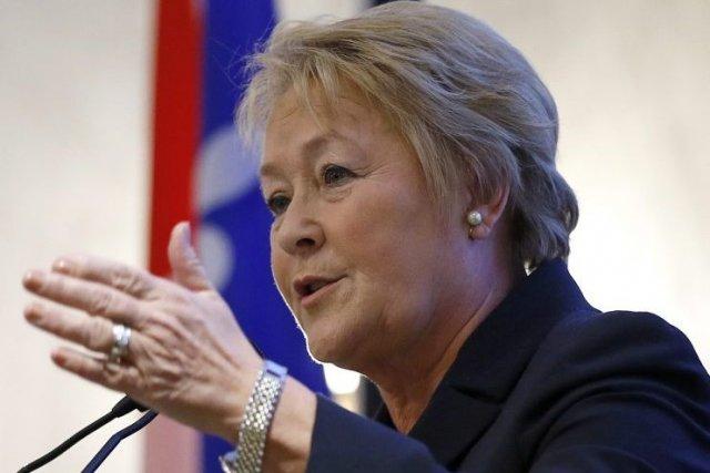 Pauline Marois a expliqué que l'opposition avait déjà... (Photo AP)
