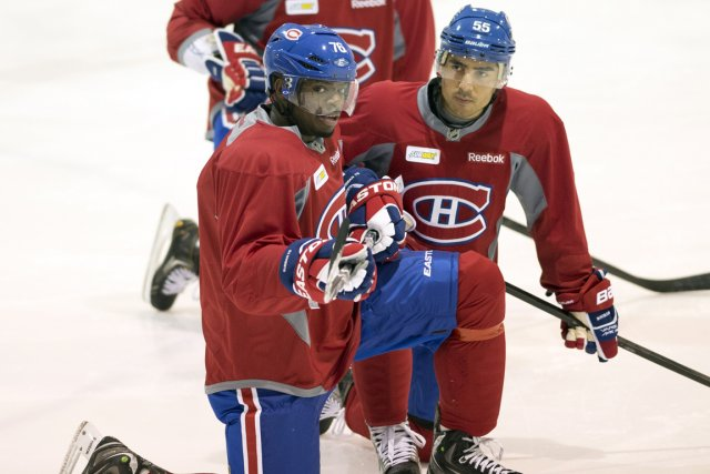 P.K. Subban a été jumelé à Francis Bouillon... (Photo Ryan Remiorz, PC)