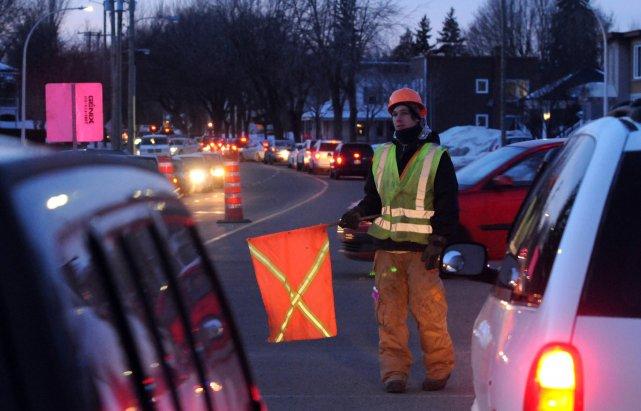 Le ministère des Transports du Québec a fermé... (Photo: François Gervais)