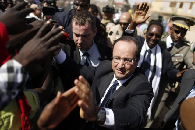 François Hollande avait déclaré vendredi que, durant son... (Photo : Benoit Tessier, Reuters)
