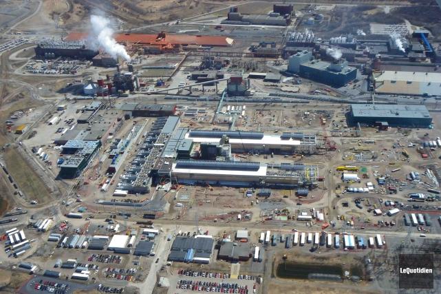 L'usine AP 60 du Complexe Jonquière.... (Archives Le Quotidien)
