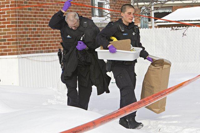 Le drame est survenu le lundi 21 janvier... (Photo: Patrick Sanfaçon, La Presse)