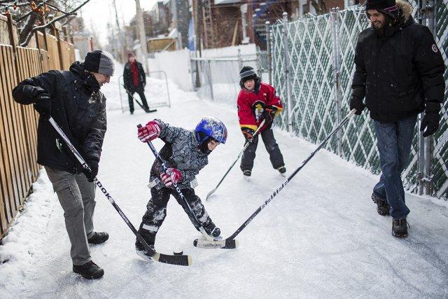 «Les parents n'ont qu'à emmener leurs enfants jouer... (Photo: Édouard Plante-Fréchette, La Presse)