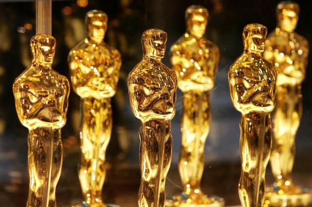 Un évènement phare comme les Oscars, c'est du bonbon pour les compilations de... (PHOTO ARCHIVES AFP)