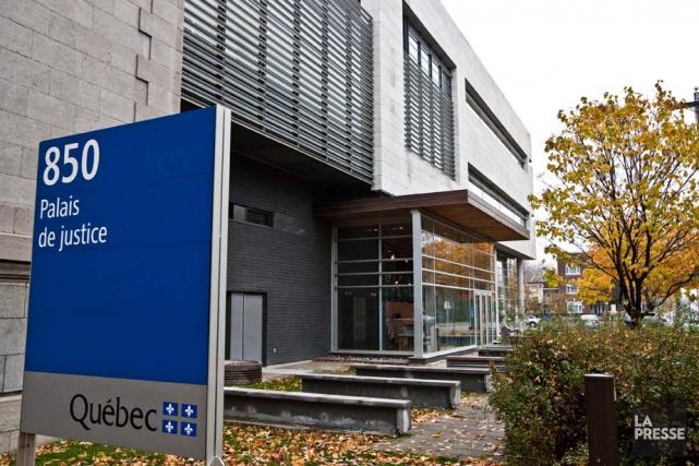 Le palais de justice de Trois-Rivières....