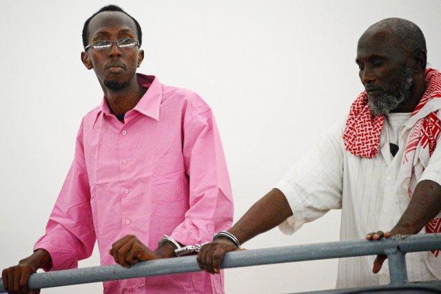 Le journaliste indépendant Abdiaziz Abdinuur (ici lors de... (Photo Mohamed Abdiwahab, AFP)